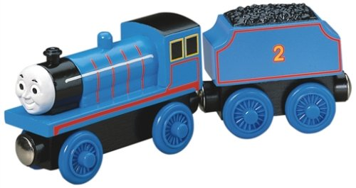 41xGLylFdWL Reviews Thomas And Friends Wooden Railway   Edward The Blue Engine