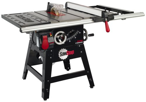 Sawstop Cns175-Sfa30 1-3/4 Hp Contractor Saw With 30-Inch Aluminum Extrusion Fence And Rail Kit