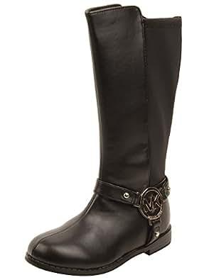 com: MICHAEL Michael Kors Kids Emma Kaya Boots in Black 8 W US: Shoes