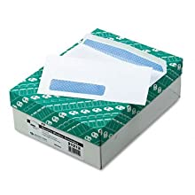 Quality Park 21312 Quality Park Left-Window Envelopes, Traditional Seam, #10, White, 500/Box
