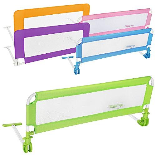 Tectake barriera per letto da bambini sponda ribaltabile - Barriera letto chicco ...