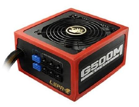Lepa G600-MB MaxGold Alimentation pour PC 600 W Noir