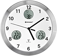 Comprar Bresser 8020200 - Io mytime reloj, 30 cm, color blanco