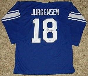 Autographed Sonny Jurgensen Jersey - Duke Blue Devils #18 Throwback - JSA Certified -... by Sports+Memorabilia