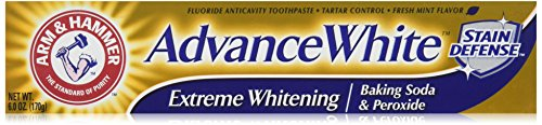 ARM & HAMMER Advance White Baking Soda & Peroxide Toothpaste, Extreme Whitening 4.3 oz (Pack of 3) (Bicarbonate Of Soda For Cleaning compare prices)