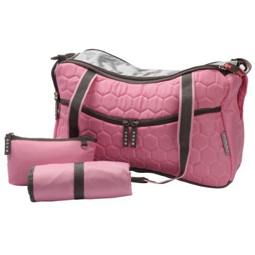 Teafco Argo Momster Diaper Bag, Medium, Tokyo Pink