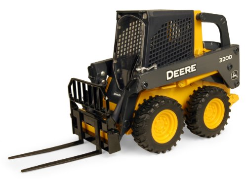 Ertl John Deere 320 Detailed Skidsteer, 1:16 Scale back-934434