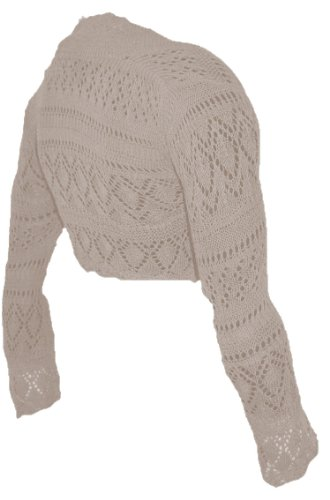 Super Sweater: Fashion Victim, Ladies Long Sleeve Crochet ...