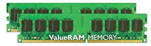 Kingston ValueRAM 4GB 667MHz DDR2 Non-ECC CL5 DIMM (Kit of 2) Desktop Memory