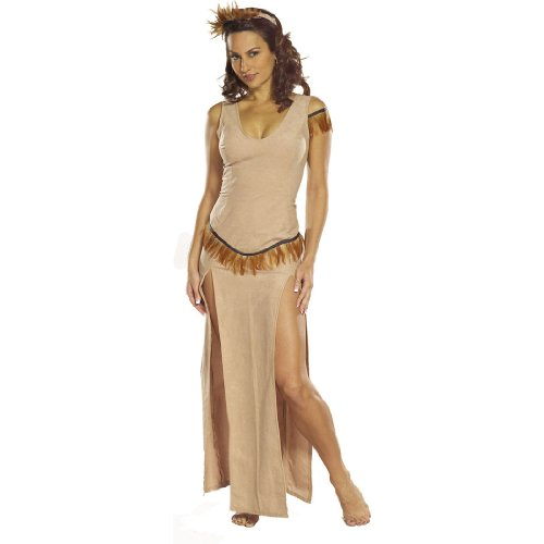 Indian Maiden Sexy Pocahantas Costume Indian Native American