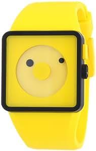 Nixon Men's A116-250 Plastic Analog Yellow Dial Watch