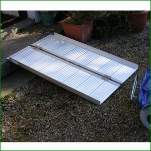 Suitcase Ramp (4ft) For Wheelchairs or Scooters