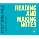 Reading and Making Notes (Pocket Study Skills)by Jeanne Godfrey