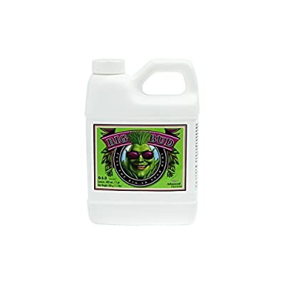 Advanced Nutrients Big Bud Liquid Fertilizer, 500ml Size: 0.5-Liter, Model: 5050-13 , Home & Outdoor Store