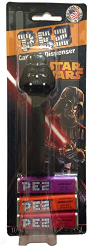 Pez Candy Dispenser: Star Wars Darth Vader Blister Card - 1