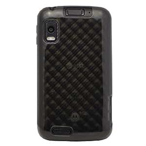 Diztronic High Gloss Smoke DiamondFlex TPU Case for Motorola Atrix 4G (AT&T) [Diztronic Retail Packaging]
