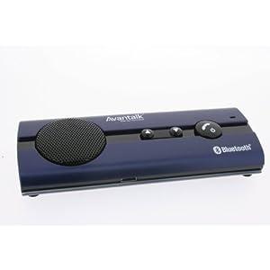 Avantalk BTCK-10 Multipoint Bluetooth Visor Handsfree Wireless Black Speakerphone Car Kit for Nokia,Motorola,Samsung,Sony Ericosson,Blackberry,LG