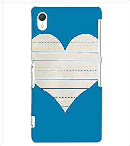 PrintDhaba Heart D-1453 Back Case Cover for SONY XPERIA Z2 (Multi-Coloured)
