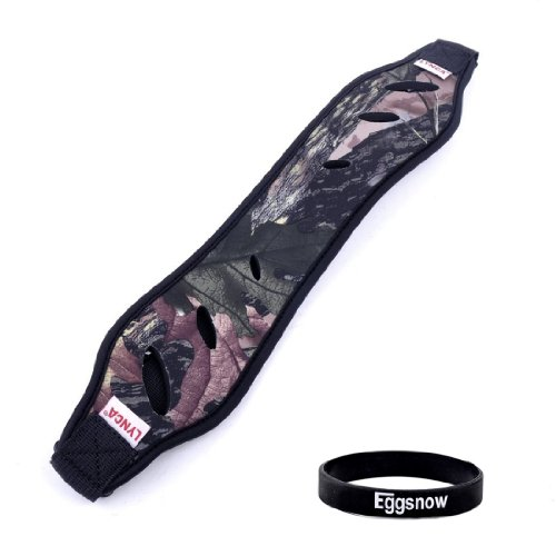Eggsnow Nylon Shoulder Neck Camera Strap Belt For All Dslr Camera Binoculars (Nikon Canon Sony Pentax Etc) - Camouflage Black