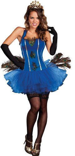 Royal Peacock Sexy Adult Costume