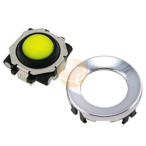 Trackball Replacement Kit for Blackberry Pearl / Curve / 8800, White