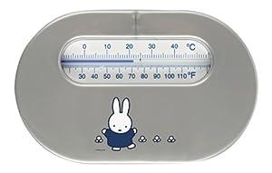 Bébé-jou 622570 Miffy - Termómetro para habitación, diseño de Miffy, color gris de bébé-jou - BebeHogar.com