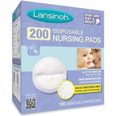 Lansinoh - Disposable Nursing Pads, 100 count, 2-