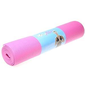 Yoga Mat 6mm Rose Red