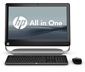 HP TouchSmart 320-1050 Desktop Computer - Black