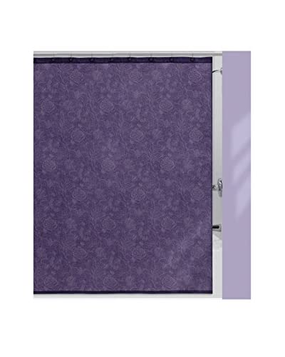 Creative Bath Fine Lines Shower Curtain, Purple