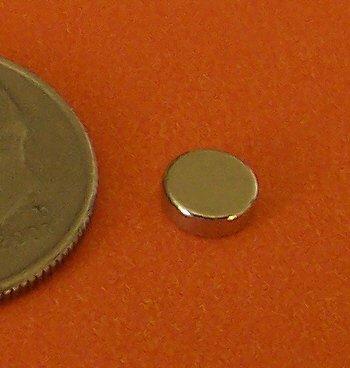 100 Strong N48 Neodymium Magnets 3/16