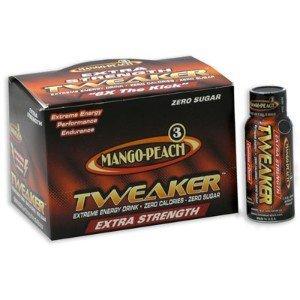 24 Tweaker Extreme Energy Drinks - Extra Strenth - Mango-peach 24/2oz by Tweaker (Tweaker Energy Mango compare prices)