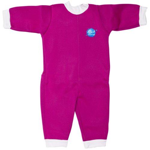 Splash About Warm-In-One Wetsuit (Swimwear), Pink, 6-12 Months front-208582