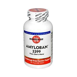 Amyloban 3399 Mushroom Wisdom (Formerly Maitake Products) 180 Tabs