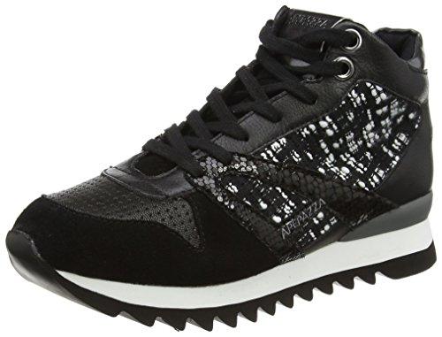 ApepazzaDANIELA - Sneaker donna , Nero (Schwarz (Nero/Bianco)), 40