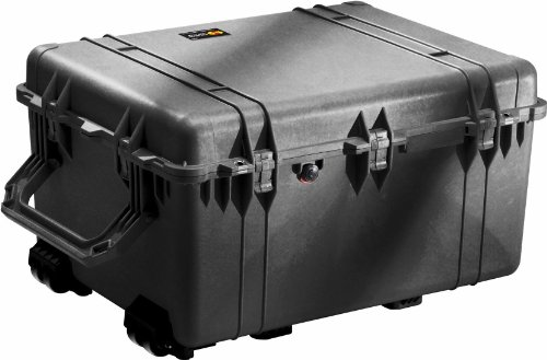 Pelican 1630 Case with Foam for Camera (Black)