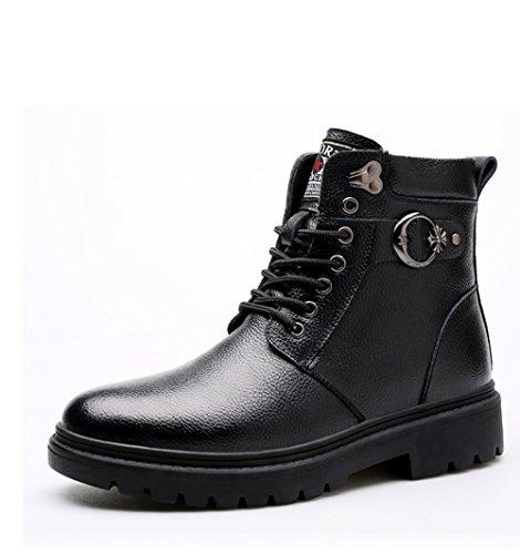 Gaorui Uomo Scarpe Invernali Da Neve Imbottiti Scarpe Caldo Casual Pelle Sintetica Sneakers Stivaletti Invernali