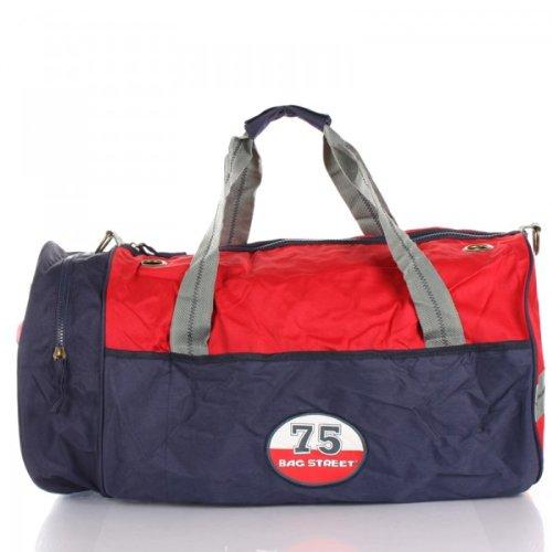 Sporttasche Reisetasche Bag Street Variabel rot-blau