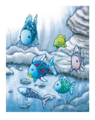 Alexander Hamawi The Rainbow Fish I Art Print Poster - 24x32