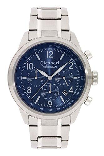 Gigandet Journey Orologio da Uomo Quarzo Cronografo Analogico Data Blue G25-004