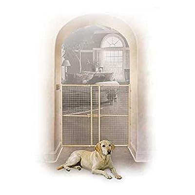 Wood/Mesh Pet Gate