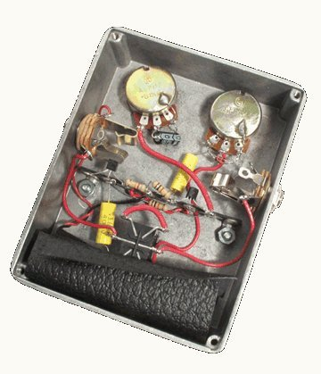Напольная педаль мультиэффектов ModKitsDIY The Rattler Distortion Effects Pedal Kit
