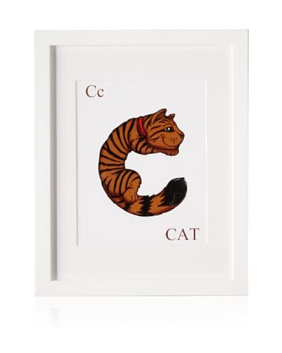 Baby Baazaar C Animal Alphabet Framed Wall Art As You See