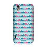 Ecell - HEAD CASE KAWAII WHALE PATTERN DESIGN SNAP BACK CASE FOR LG OPTIMUS BLACK P970