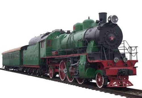 Old Train, 1920-th Years - 12