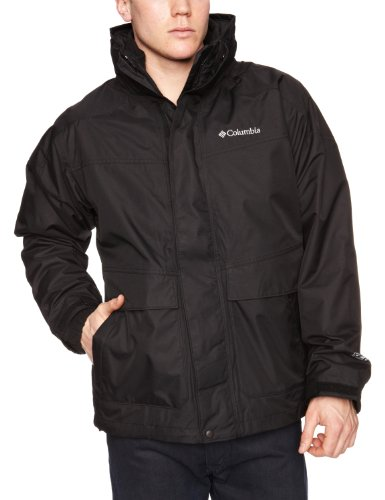 Columbia Men's Franklin Cliff Interchange Jacket - Black, Small