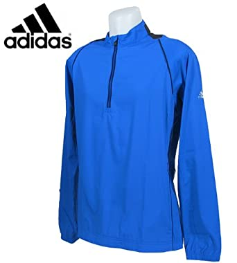 adidas Mens ClimaProof Half Zip Windshirt by adidas