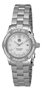 TAG Heuer Women's WAF1416.BA0824 Aquaracer Swiss-Quartz Diamond Mother-Of-Pearl Dial by TAG Heuer