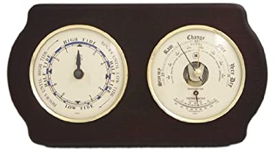 Tide Clock, Barometer and Thermometer by Bey-Berk