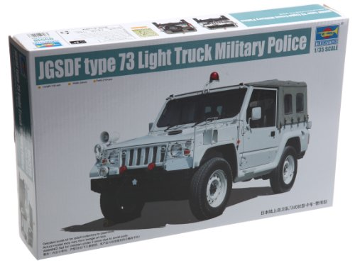 Trumpeter 1/35 Japanese Type 73 Light Truck (Shin) Military Police Version Model Kit